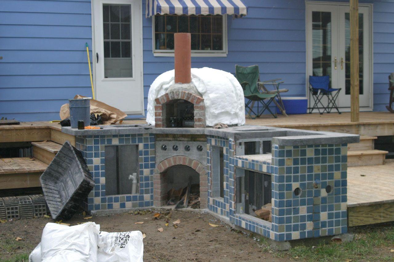 Diy Brick Bread Oven Buildipedia Brick Outdoor Stove Outdoor Oven