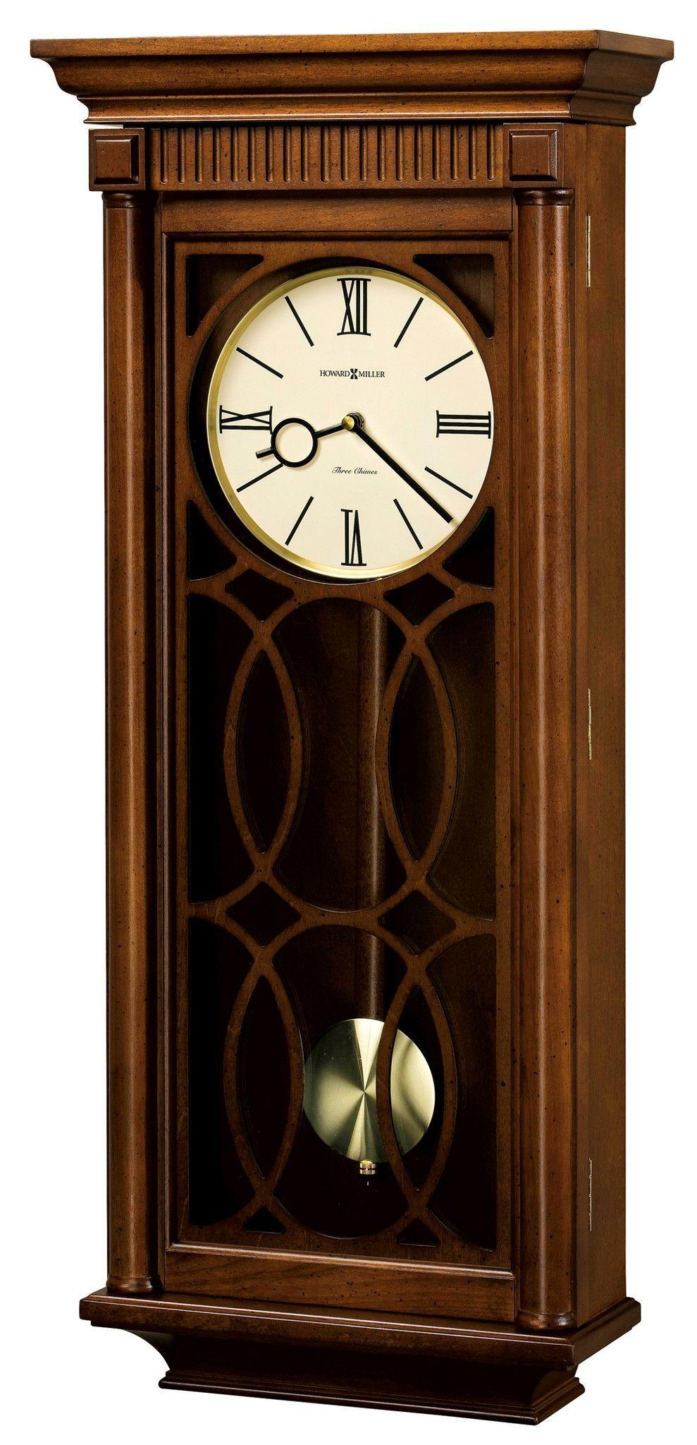 Kathryn Wall Clock Pendulum Wall Clock Vintage Wall Clock Chiming Wall Clocks