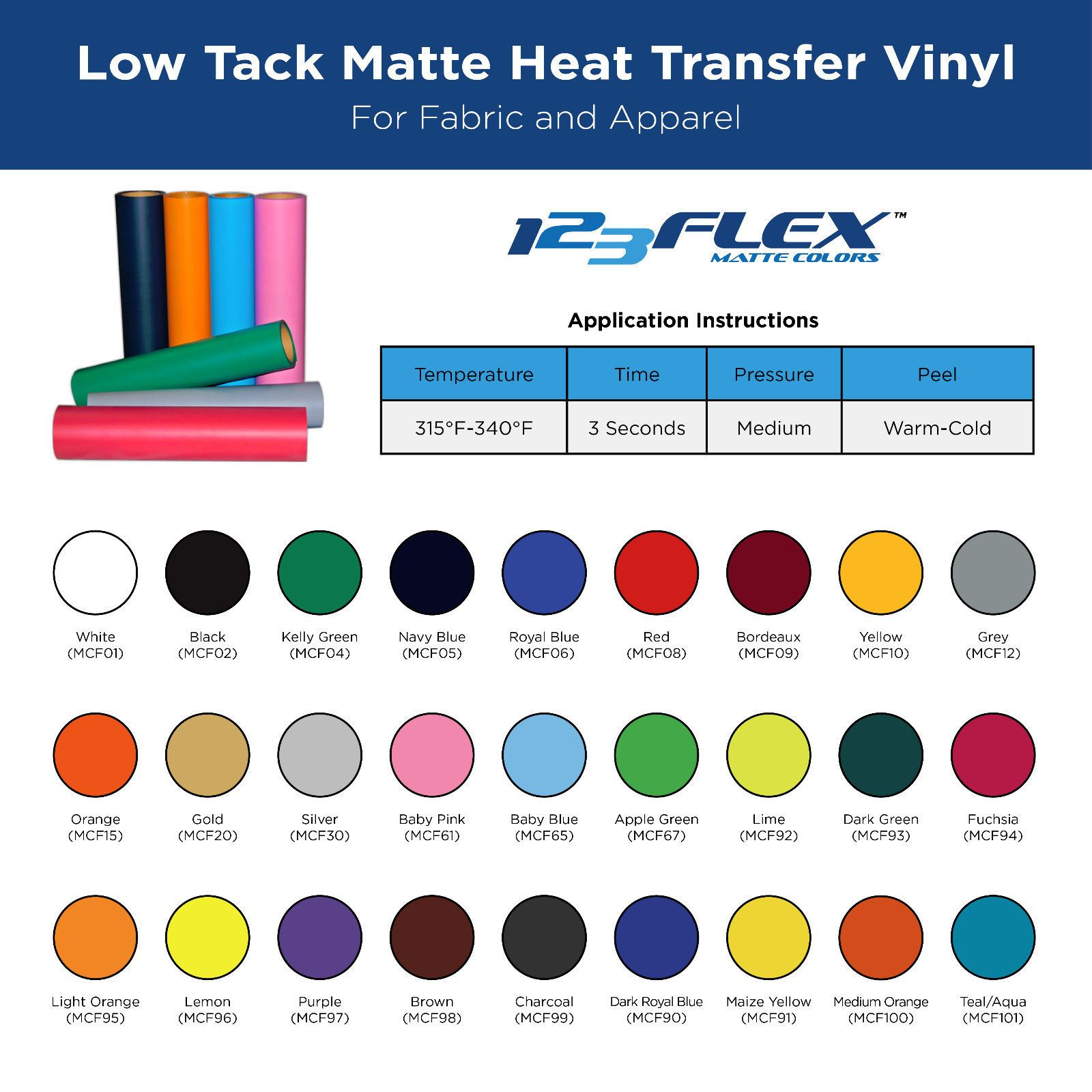 Details About Heat Transfer Vinyl For Tshirts 20 X 5 Foot Roll Heat Transfer Vinyl Heat Transfer Vinyl
