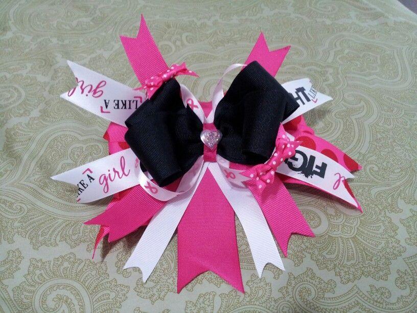 Cancer Awareness Hair Bow