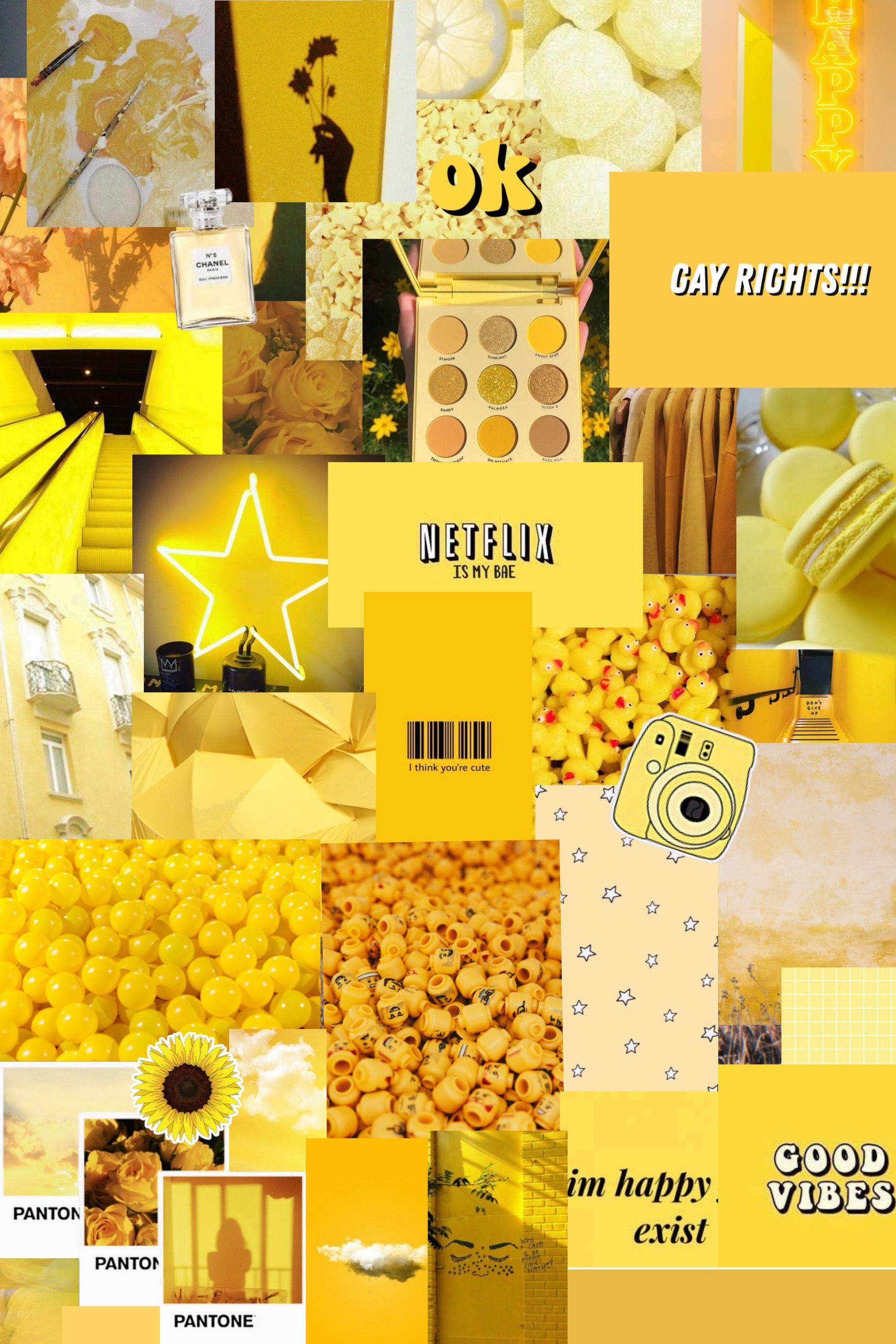Yellow Aesthetic Wallpaper Girl Iphone Wallpaper Iphone Wallpaper Yellow Cute Tumblr Wallpaper