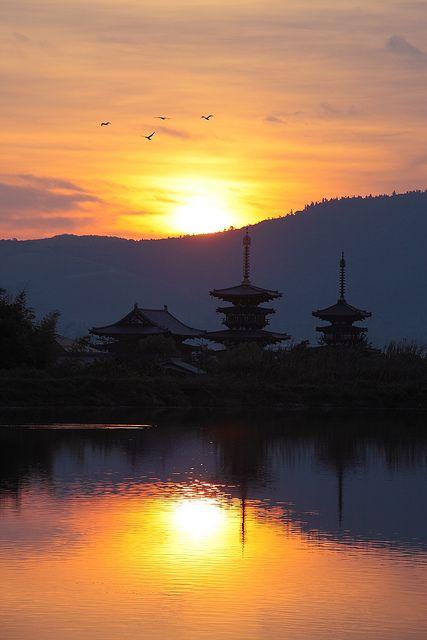Nara Yakushi-ji Temple , JAPAN #Japan For articles on adventure travel including Japan check out http://adventurebods.com