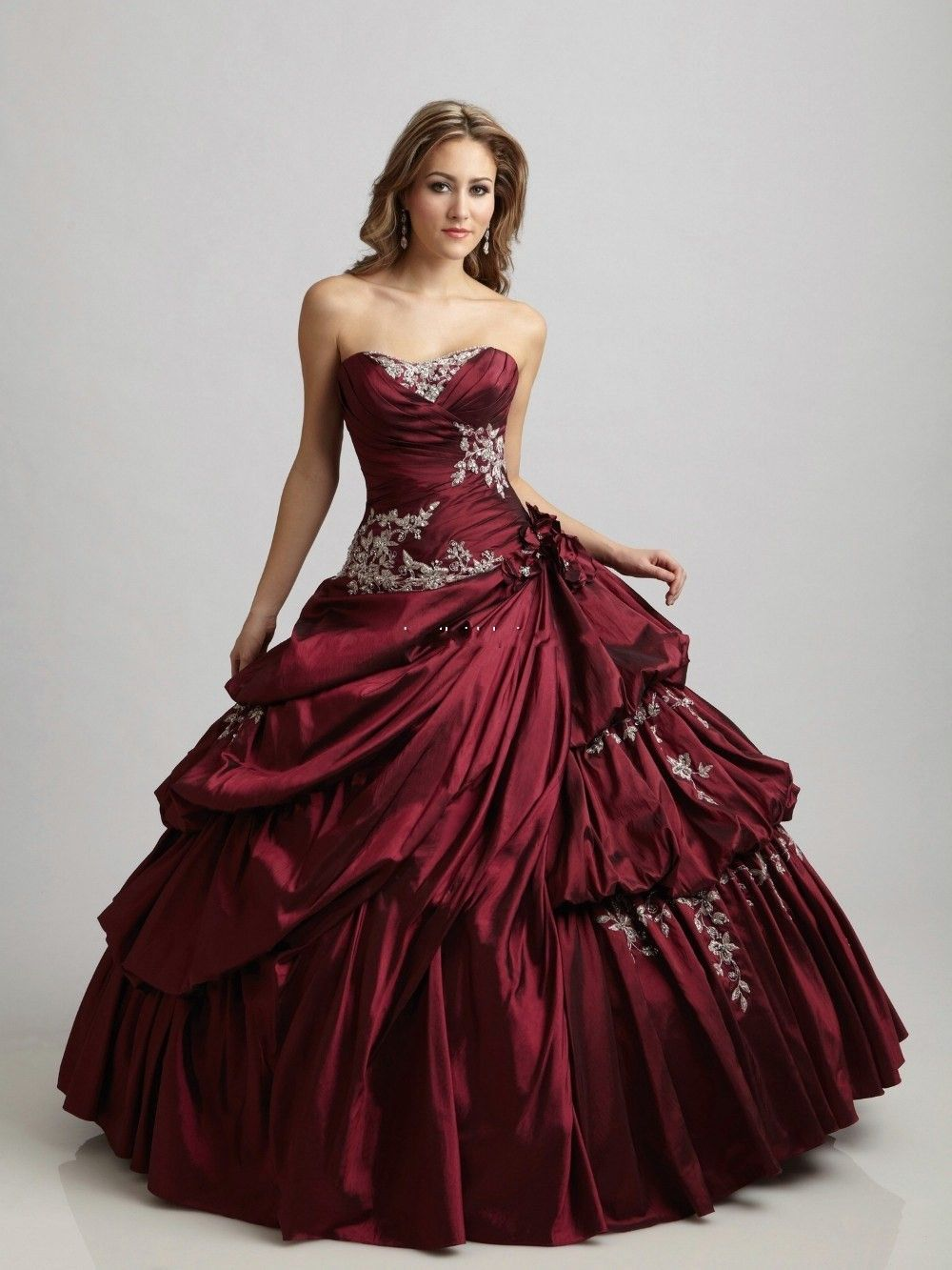 Find More Wedding Dresses Information about Cecelle 2016 Vintage Gothic  Burgundy Royal Blue Ball Gown Wedding Dresses Sweetheart Corset Princess  Quinceanera ... bdb56f6b9299