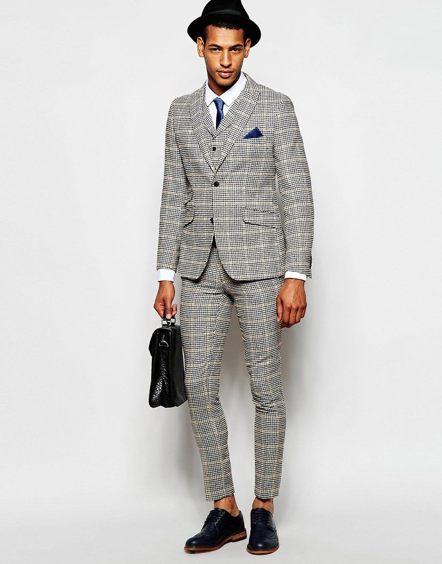 Feraud Dog Tooth Check Suit Jacket | | Suits | Sports Coats ...