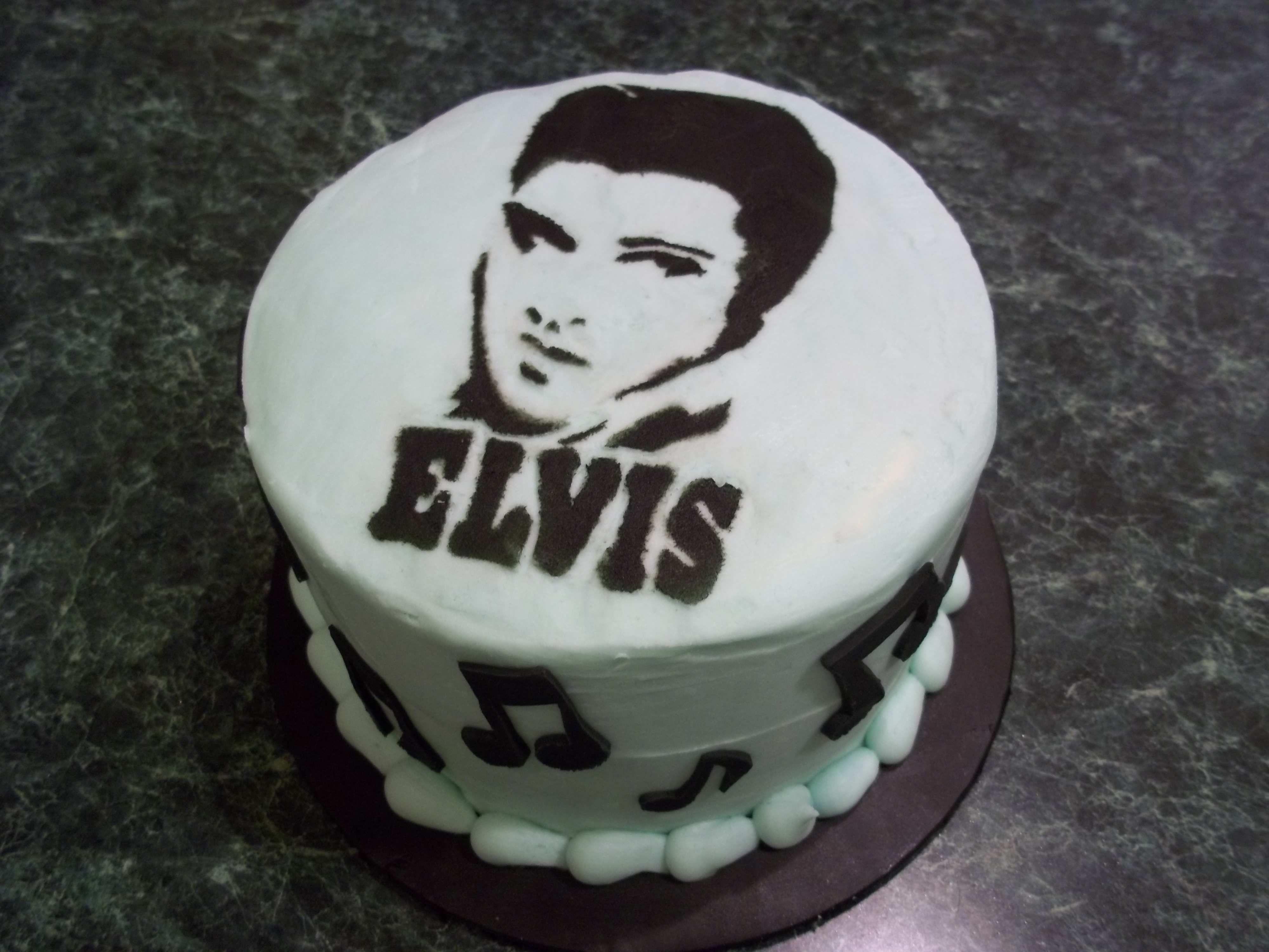Admirable Elvis Birthday Cake Elvis With Images Cake Grooms Cake Personalised Birthday Cards Sponlily Jamesorg
