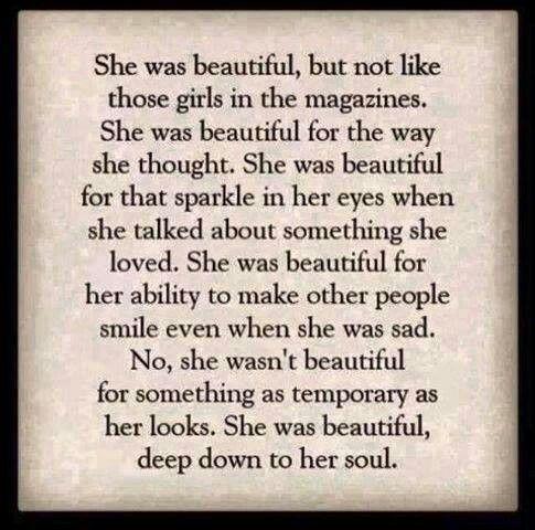 True Beauty Is Within Our Souls Confidante Pinterest True Beauty