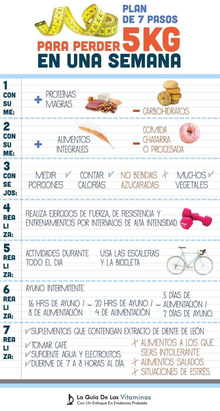 plan de dieta saludable recomendado
