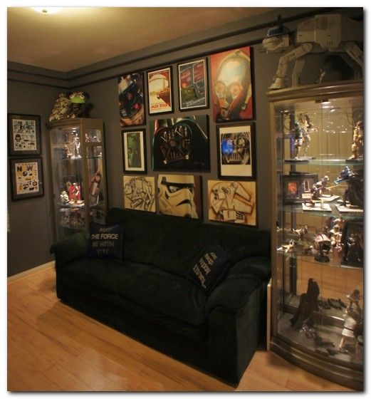 Man Cave Apartment Decor For Gentleman Man Cave Living Room Apartment Decor Nerd Room