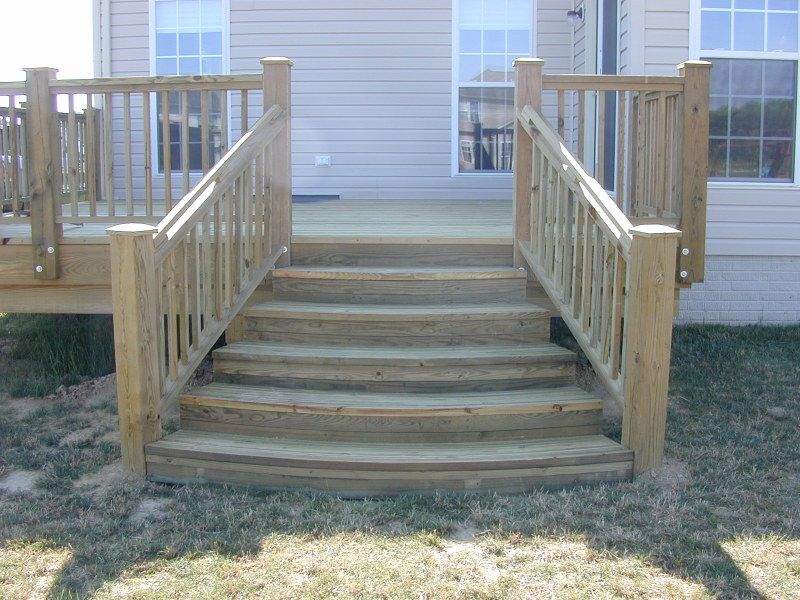 Building Deck Stairs is a set by step process of how to build deck ...