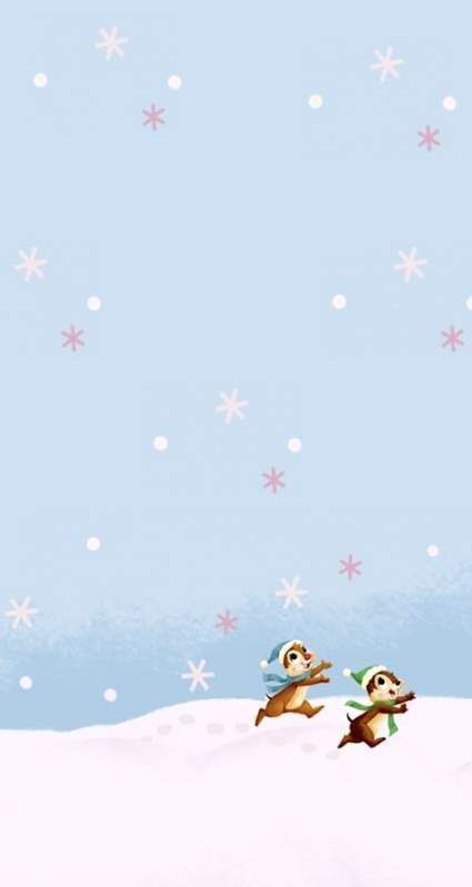 Cute Disney Christmas Wallpapers