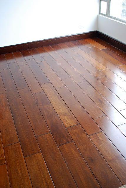 Pisos de madera maciza mi casa zocalos de madera piso - Madera para casa ...