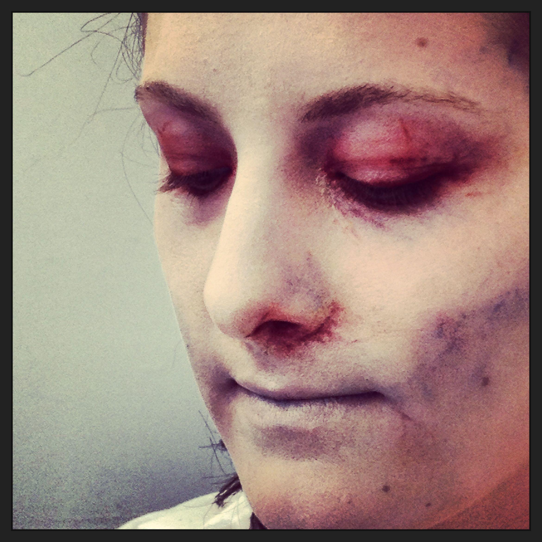 Halloween special effects zombie / dead makeup www.lisettestudio ...