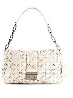 a85d39947e62 CHRISTIAN DIOR VINTAGE large flap bag