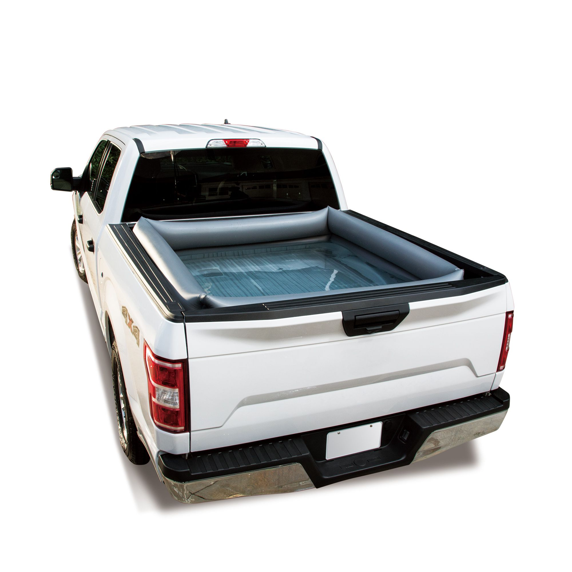 Summer Waves Inflatable Truck Bed Pool Walmart Com Truck Bed Truck Bed Tent Portable Pools