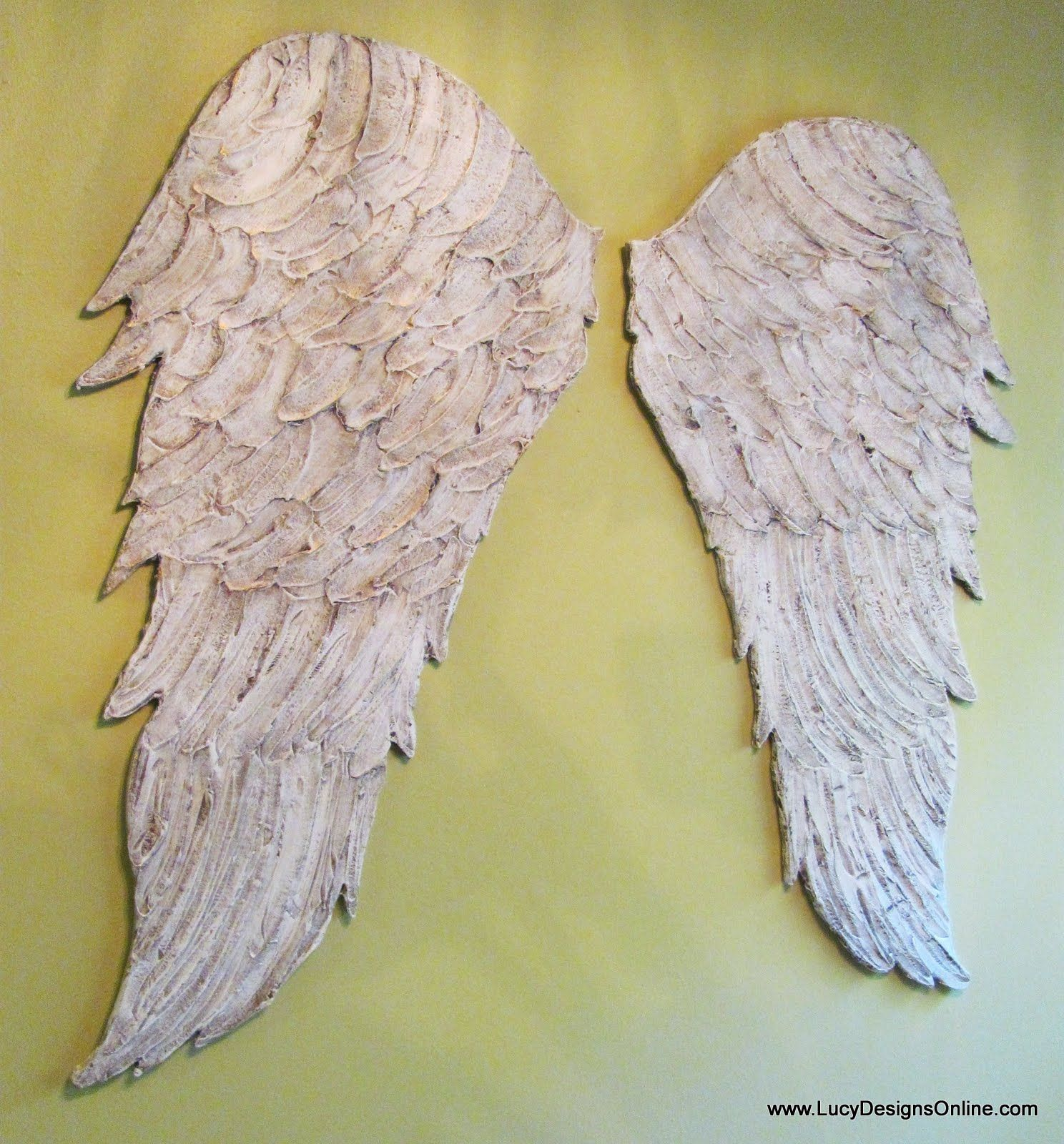 Awesome Metal Angel Wings Wall Decor Collection - The Wall Art ...