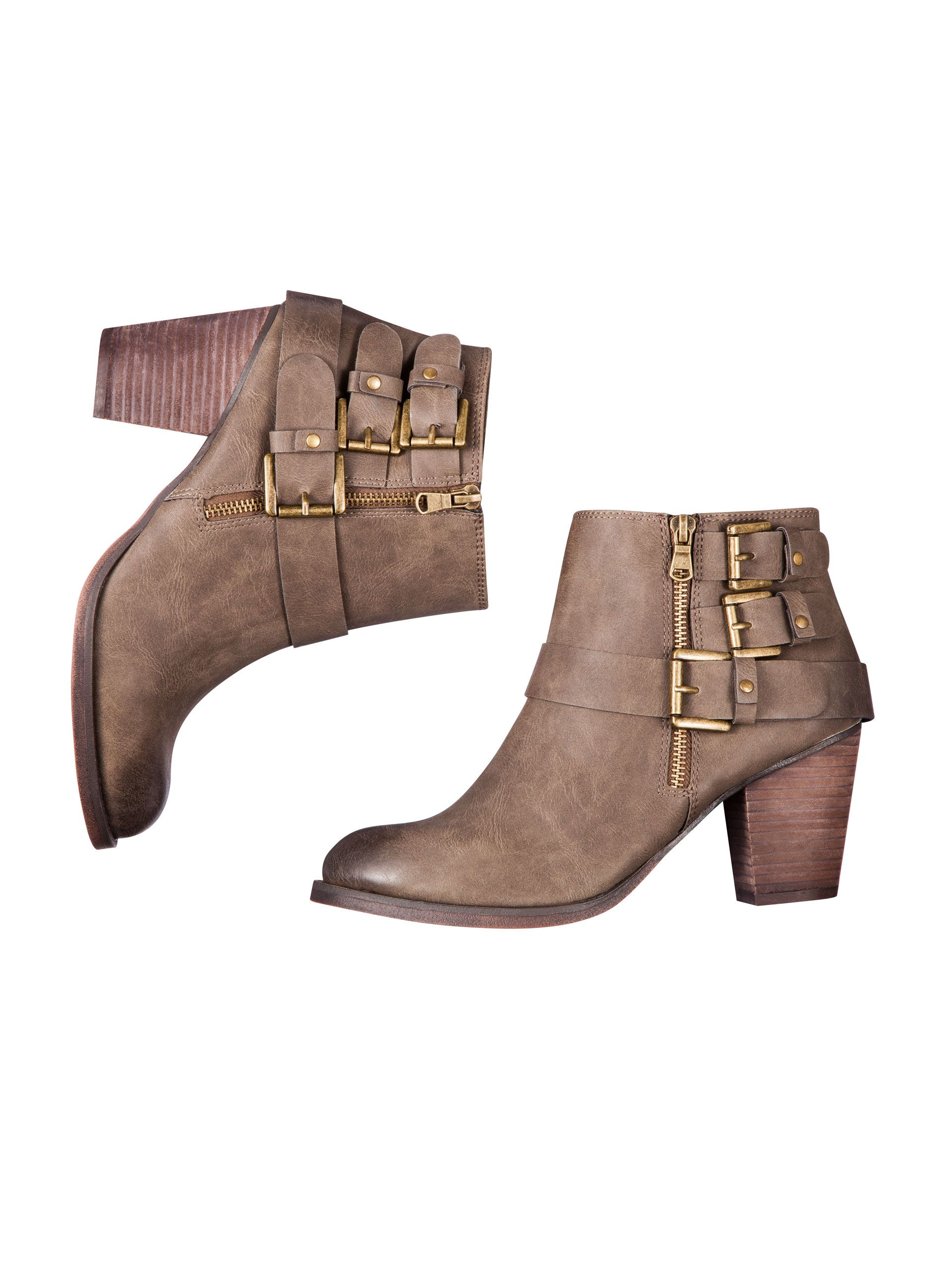11e74db9619d Mossimo Hartley II buckle ankle boot