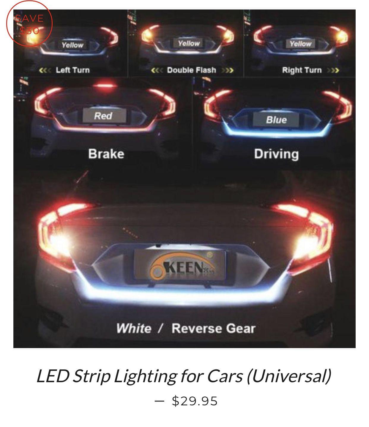 LED Strip Lighting for Cars (Universal)   SharShopStore