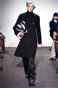 Raf Simons - click on the photo and flip through complete collection on Vogue.it