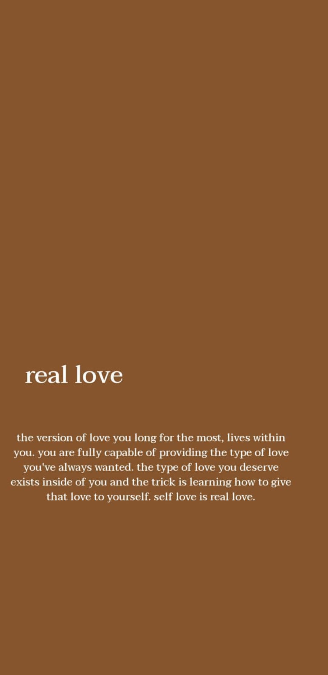Self Love Is Real Love Self Love Quotes Quotes To Live By Powerful Quotes