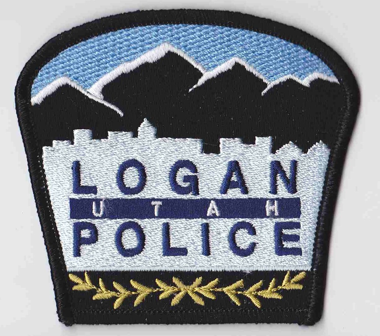 Logan Pd Ut Police Patches Police Emergency Service