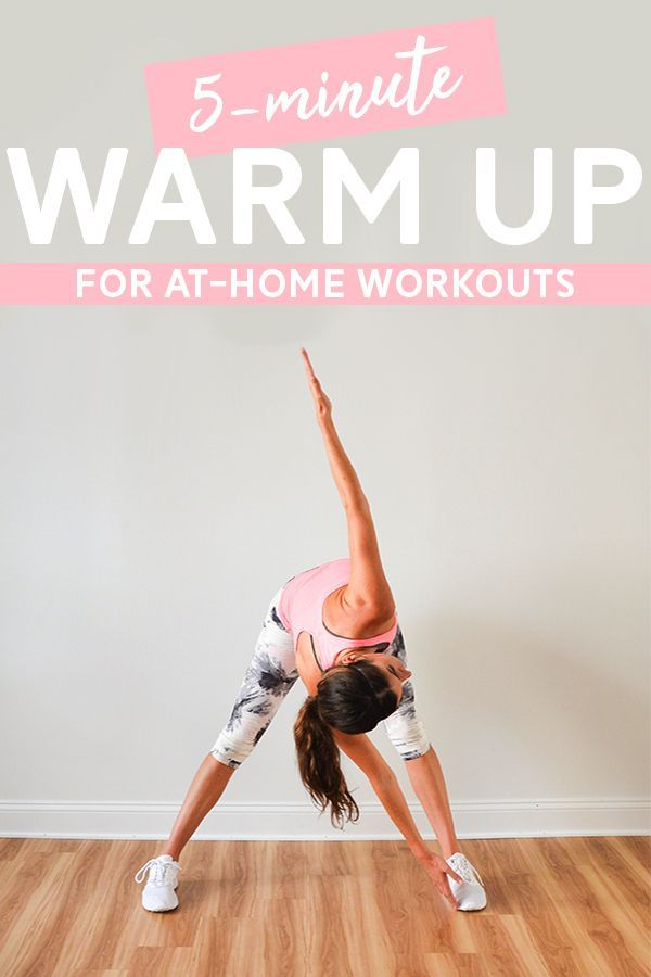 5-Min Warm Up for At-Home Workouts #gymworkouts 5-Minute Warm Up for At-Home Workouts - do this warm...