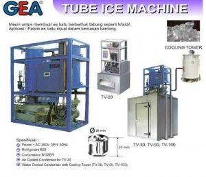 Jual Mesin Pabrik Es Tube Murah With Images