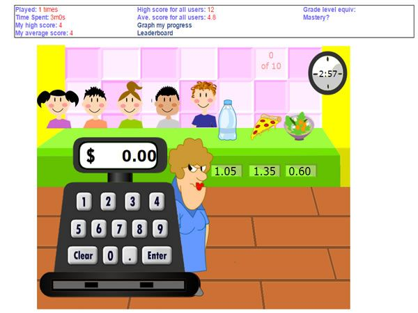 Mr Nussbaum Is A Website That Provides Free Math Games That Cover