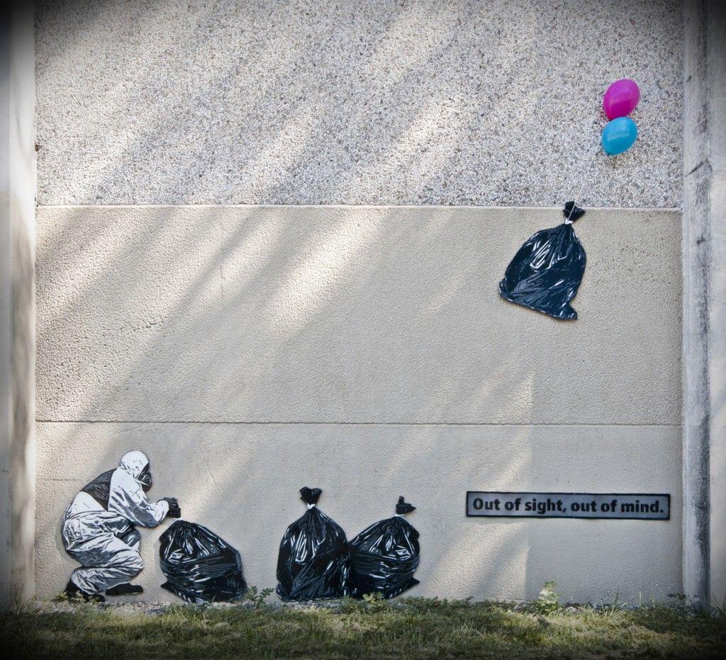 Graffiti art with meaning - Street Art