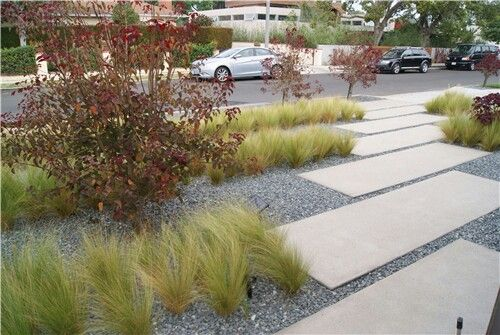 Rectangle Pavers These Might Be Poured In Place Integral Color Concrete Messa Buff Davis With A Sand Blast Finish