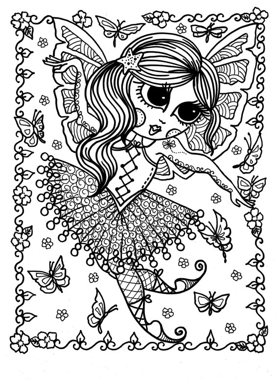 downloadable coloring book pages funky