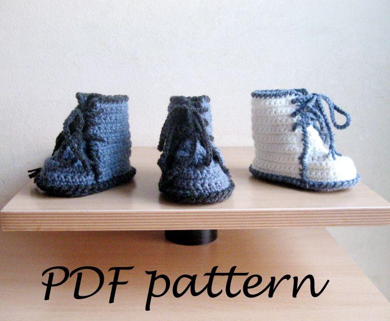 PDF crochet pattern - Baby Booties - P0032 | Crochet Inspiration ...