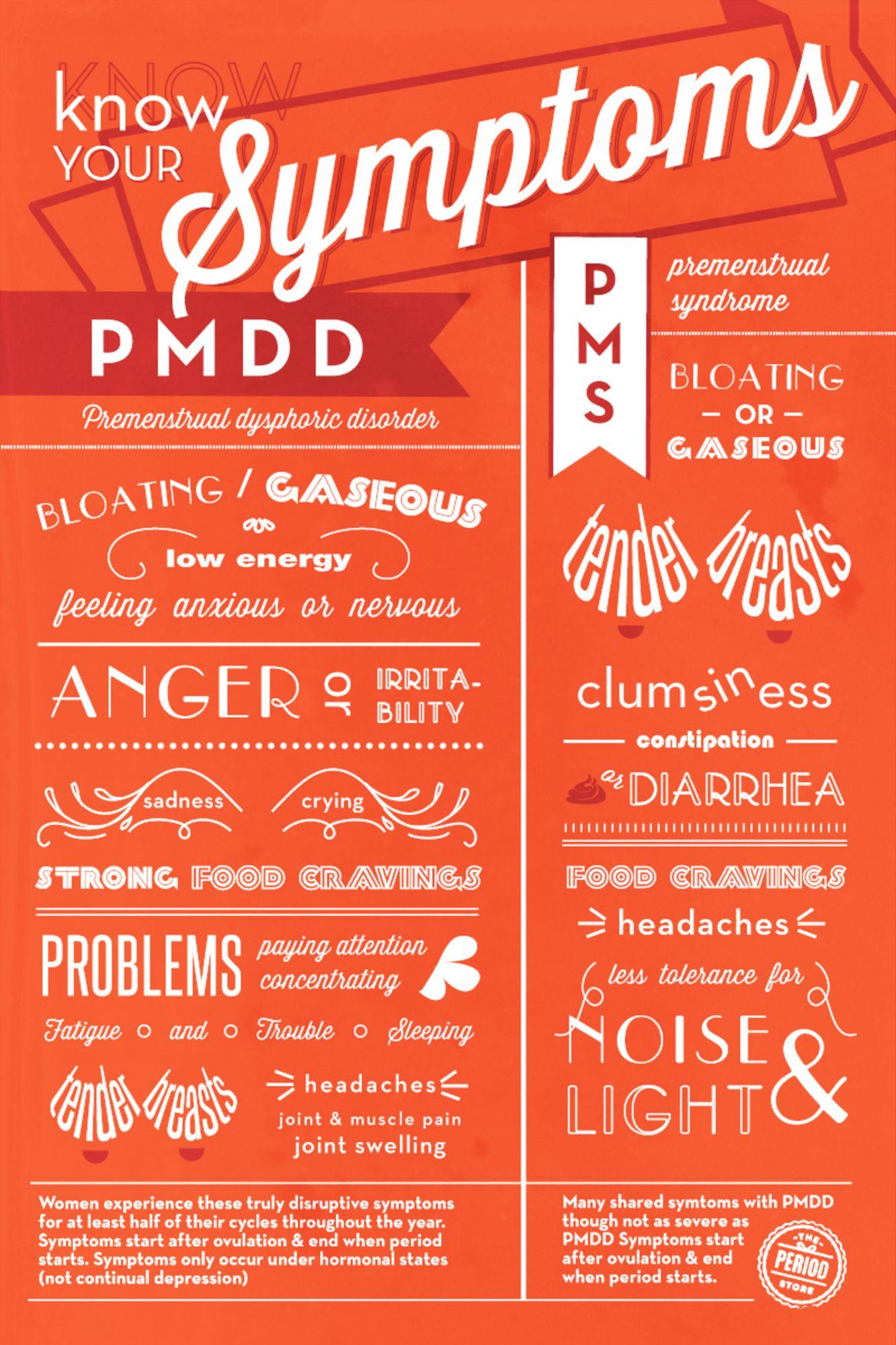 Terrible pms mood swings