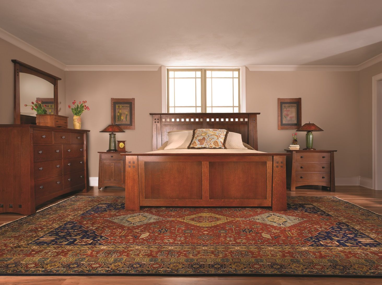 Stickley Highlands Bed  Bedroom  Bedroom Furniture