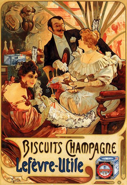 Details About French Vintage F Champenois Poster Metal Sign Shabby