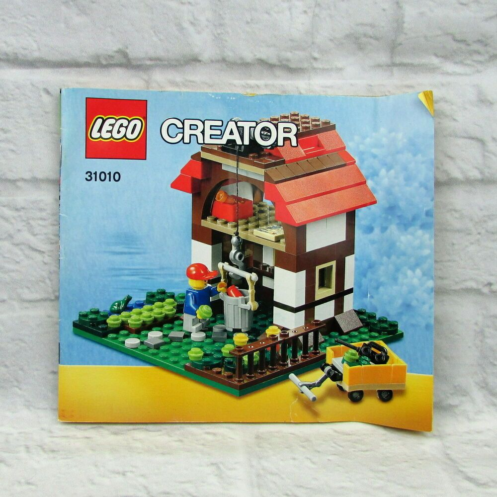 Lego Creator 31010 Treehouse Instruction Manual Booklet Only No