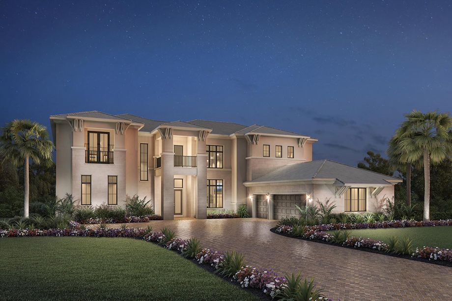 House · The Villa Lago Is A Luxurious Toll Brothers Home Design ...