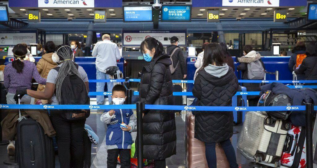 Delta american airlines suspend flights between us china