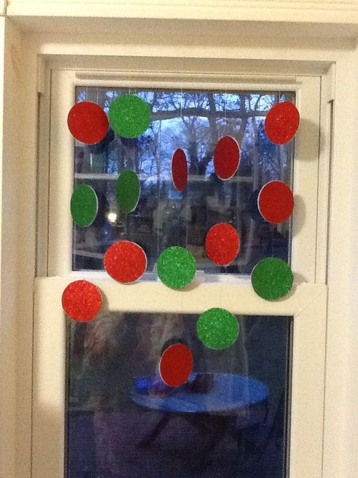 Pin on Festive Window Decorations