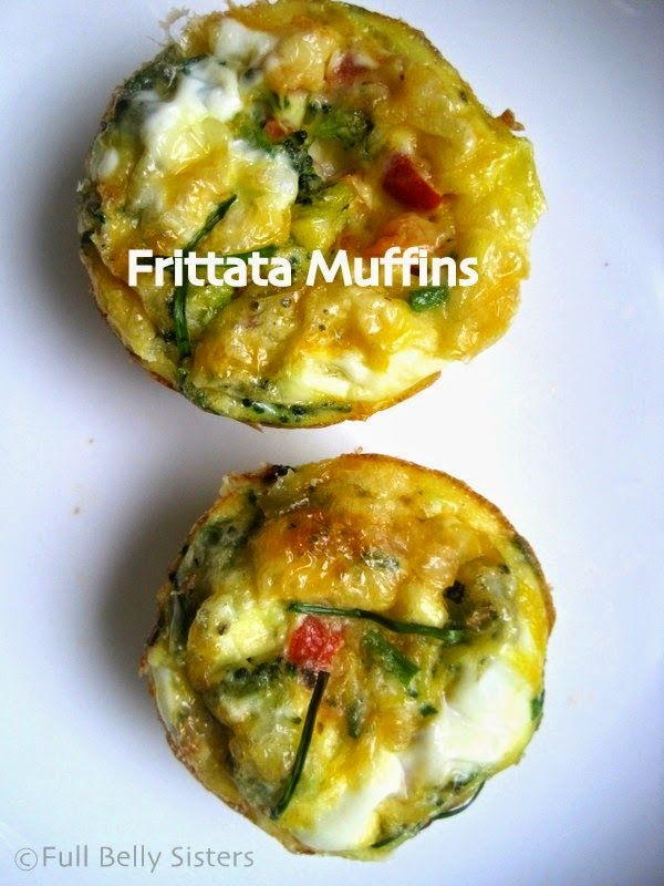 Full Belly Sisters: Finger Foods: Frittata Muffins #incredibleEGG