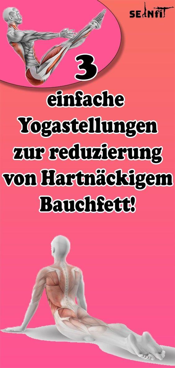 3 einfache Yogastellungen zur reduzierung von Hartnäckigem Bauchfett!