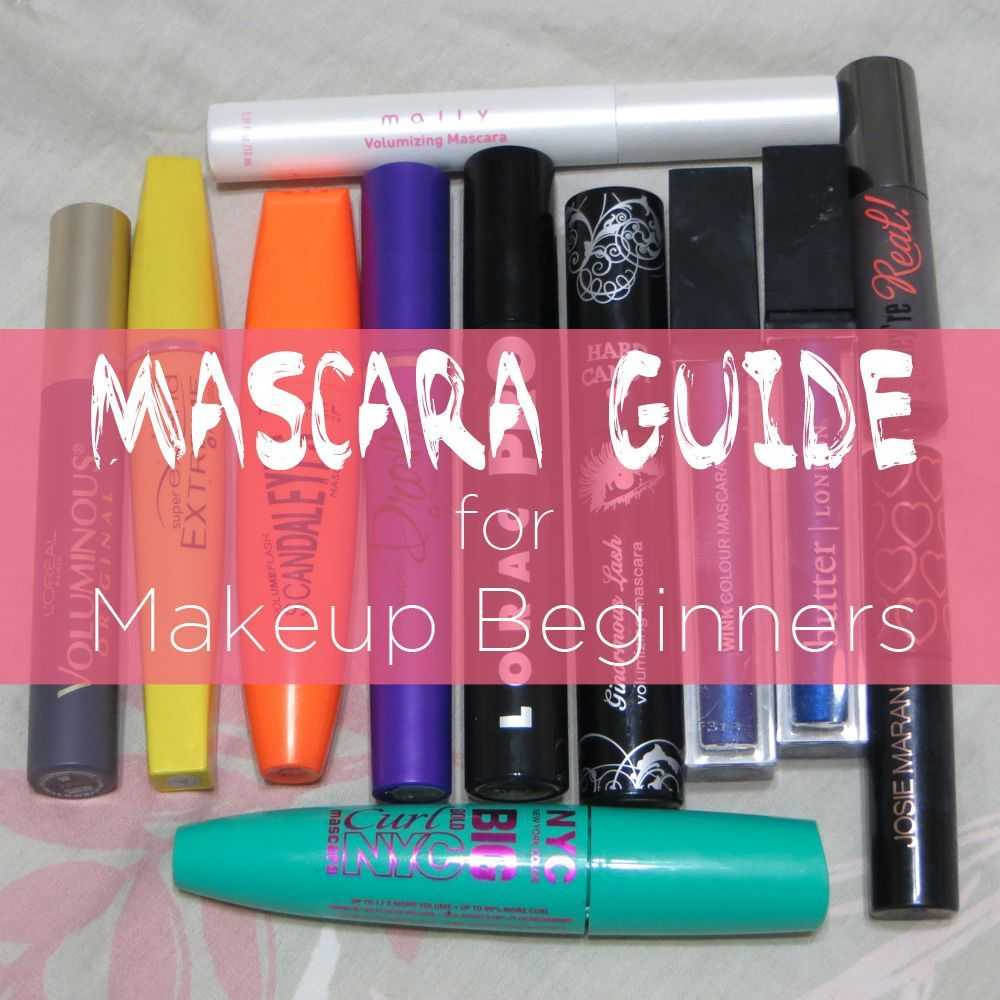 Slashed Beauty Mascara Guide for Makeup Beginners