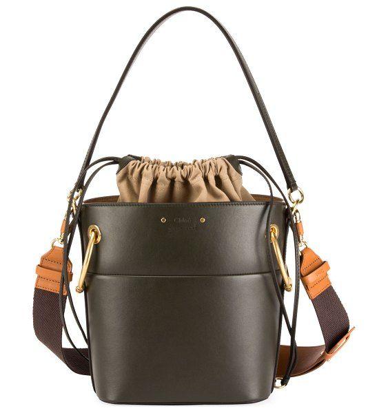 Roy medium smooth leather bucket bag by Chloe  chloe ecb2c0ccea514