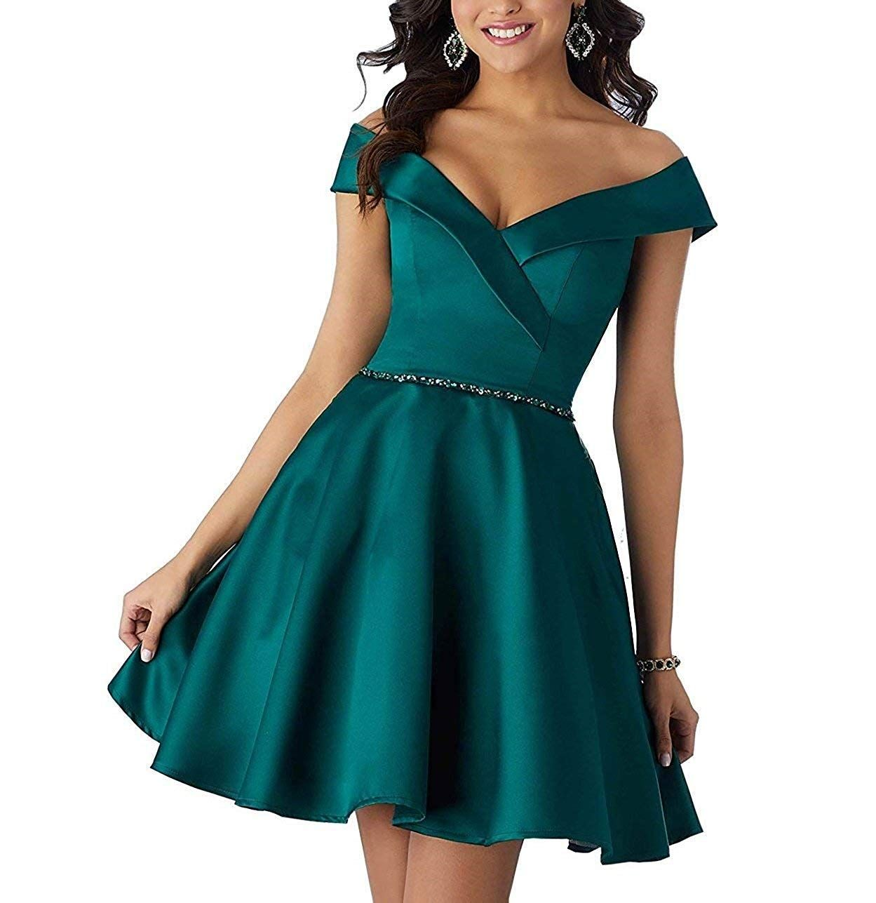 Dress Lace Up Dress Sleeveless V Neck Women Party Off Shoulder