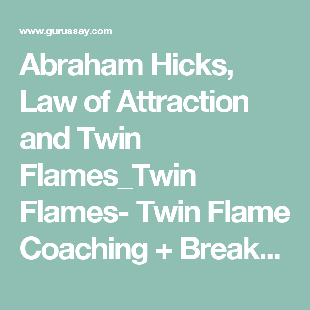 Abraham hicks dating site