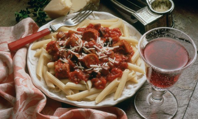 Penne pasta recipes with turkey sausage