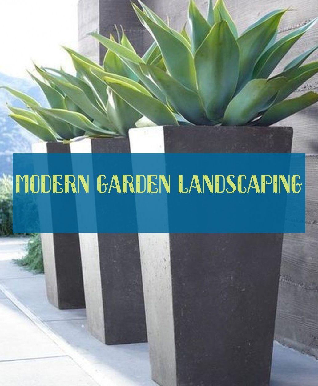 Modern Garden Landscaping Moderne Gartengestaltung ...