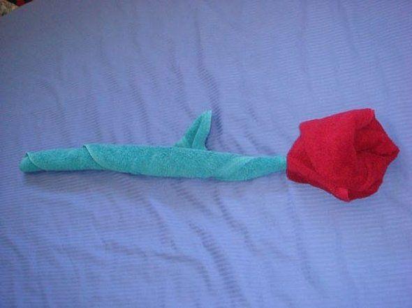 Towel origami flower cruise ship towel folding towel origami towel origami flower mightylinksfo