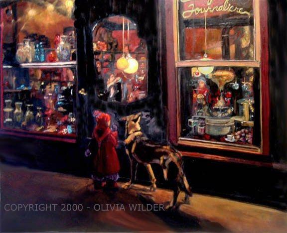 Olivia Wilder Art