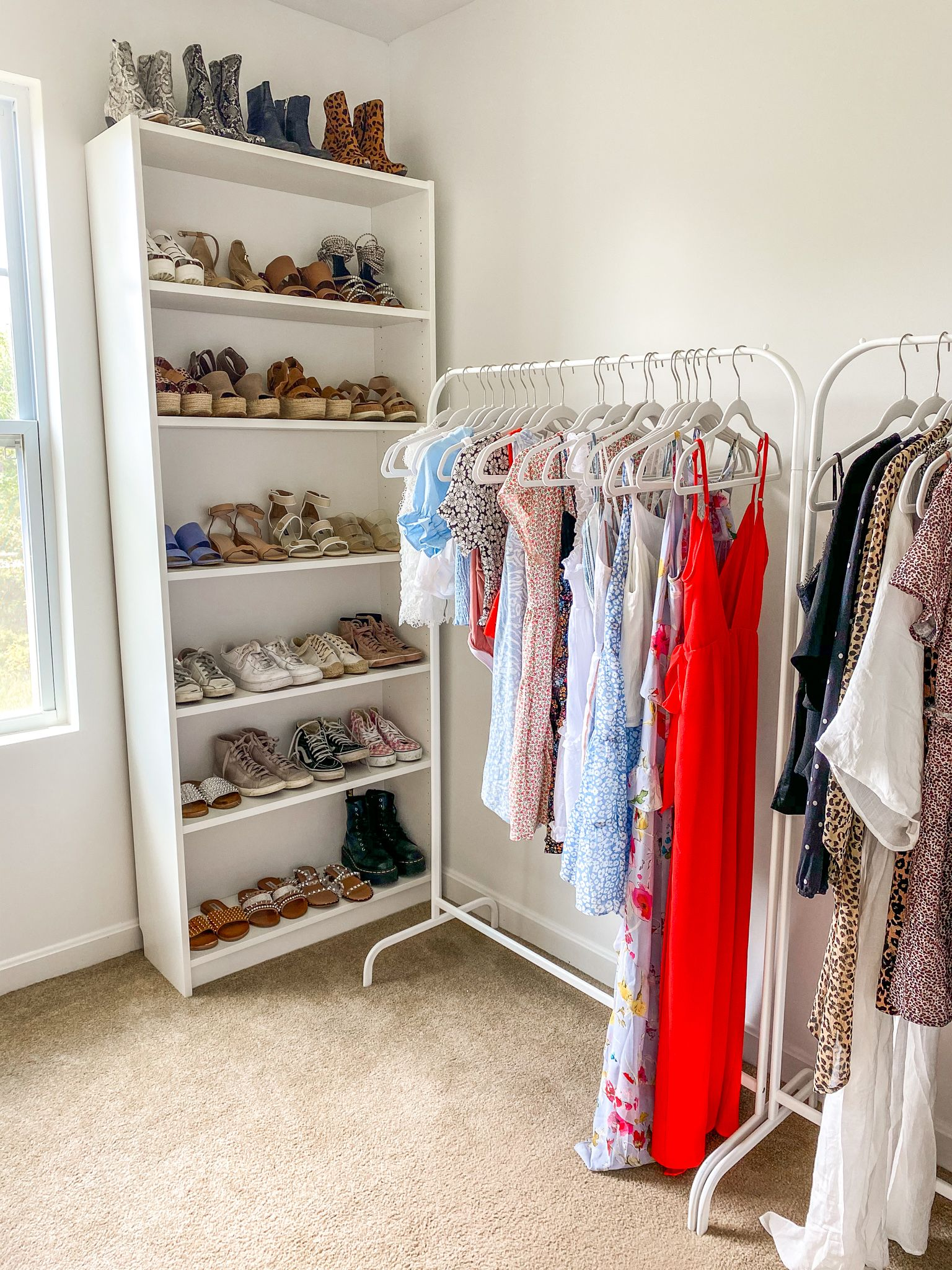 DIY Closet Room - EVERYTHING ERZ in 25  Spare room closet, Diy