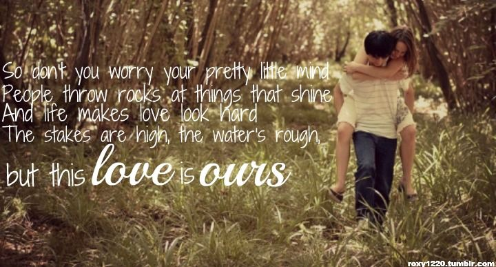 Cute Country Couple Quotes Tumblr | With lyrics, quotes ...